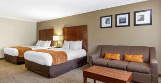 Comfort Inn Near Old Town Pasadena in Eagle Rock - לוס אנג'לס - חדר שינה