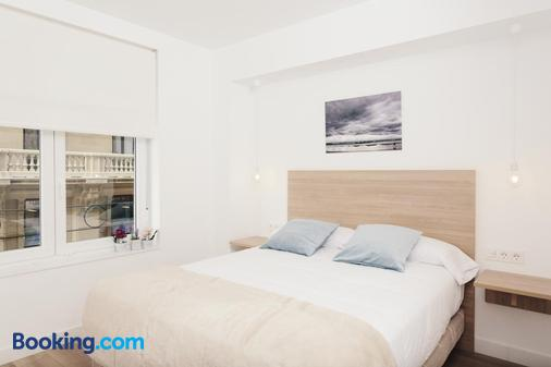 Pension Del Mar - San Sebastian - Bedroom