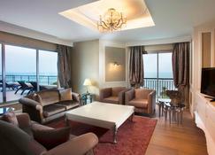 ريكسوس بيلديبي - شامل جميع الخدمات - Göynük (Antalya) - غرفة معيشة