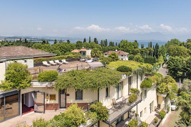 Admiral Hotel Villa Erme - Desenzano del Garda - Μπαλκόνι