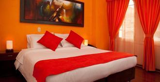 アンバー ホテル - ボゴタ - 寝室