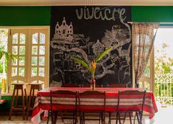 Hostel Vivacre - Rio Branco - ห้องอาหาร