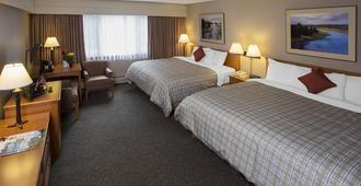 Lobstick Lodge - יאספר - חדר שינה