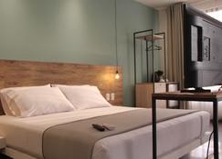 هوتل جي - سانتا كروز - غرفة نوم
