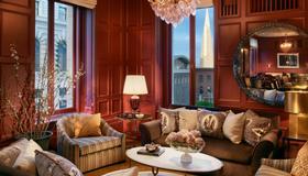 Intercontinental Hotels Mark Hopkins San Francisco - San Francisco - Sala de estar