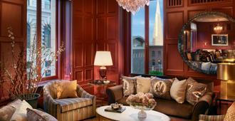 Intercontinental Hotels Mark Hopkins San Francisco - סן פרנסיסקו - סלון