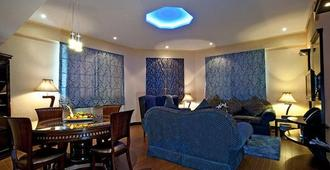 الجوهرة للشقق الفندقية - دبي - غرفة نوم