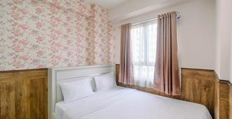 Minimalist & Comfy 2br @ Titanium Square Apartment - Jakarta - Bedroom