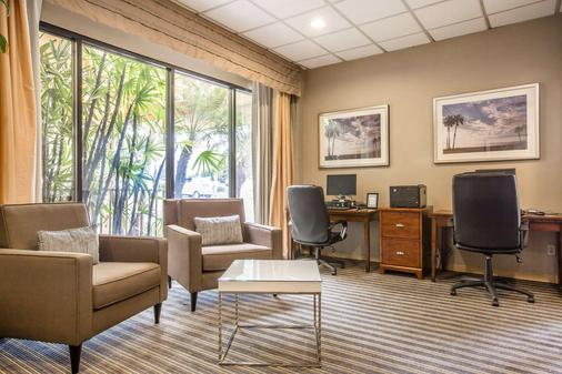 Quality Inn and Suites Hermosa Beach - Hermosa Beach - Business centre