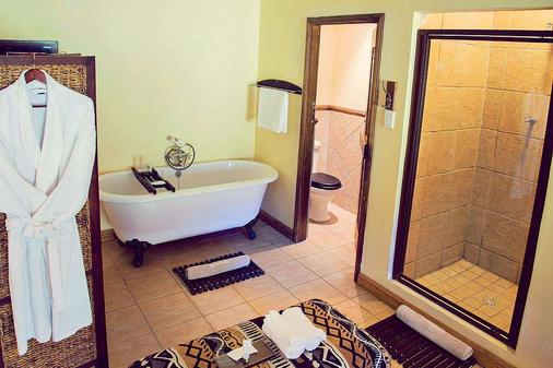 Premier Resort Mpongo Private Game Reserve - East London - Phòng tắm
