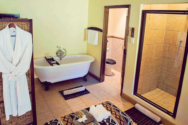 Premier Resort Mpongo Private Game Reserve - East London - Μπάνιο