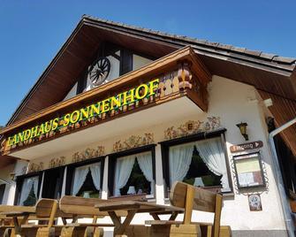 Hotel Landhaus Sonnenhof - Todtnau - Building