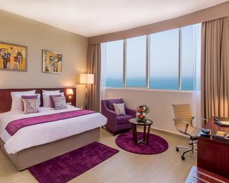 V Hotel Fujairah - Fudschaira - Schlafzimmer