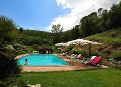 Apartment With one Bedroom in Lisciano Niccone, With Shared Pool, Enclosed Garden and Wifi - Lisciano Niccone - Alberca