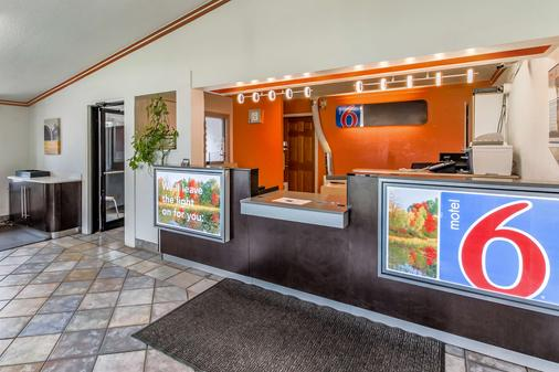 Motel 6 Kalamazoo - Kalamazoo - Front desk
