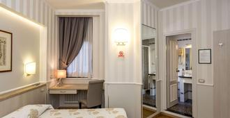 Hotel Flora - מילאנו - חדר שינה