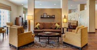 Sleep Inn and Suites Medical Center - Fargo - Living room