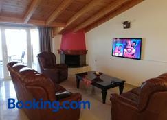 O Fotis Studios & Apartments - Ioánina - Sala de estar