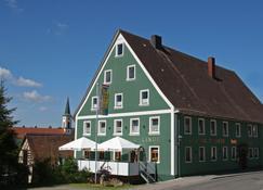 Gasthaus & Naturparkhotel Linde - Лёффинген - Здание