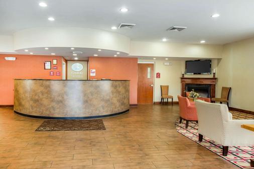 Comfort Suites Golden Isles Gateway - Brunswick - Front desk