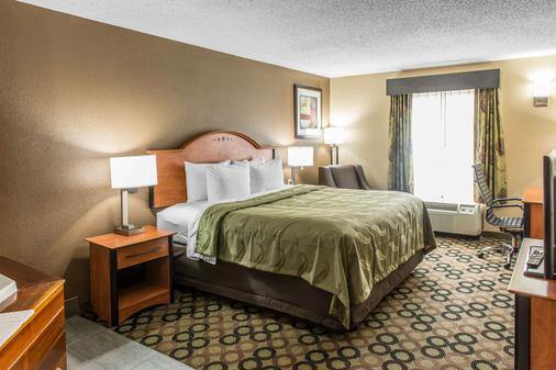 Quality Inn & Suites Columbus - Columbus - Bedroom