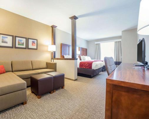 Comfort Suites - Kanab - Makuuhuone