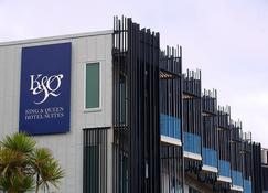 King And Queen Hotel Suites - New Plymouth - Budynek