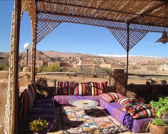 Kasbah Ben Ali - Kelaat Mgouna - Balkon