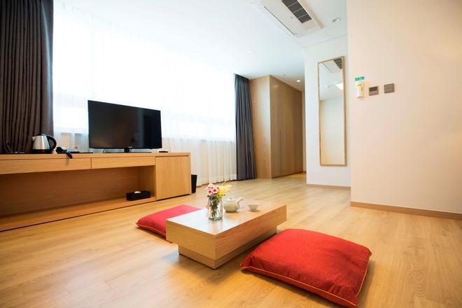 Best Western Haeundae Hotel - Busan - Living room