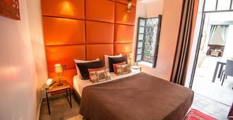 Riad Villa Wengé - מרקש - חדר שינה
