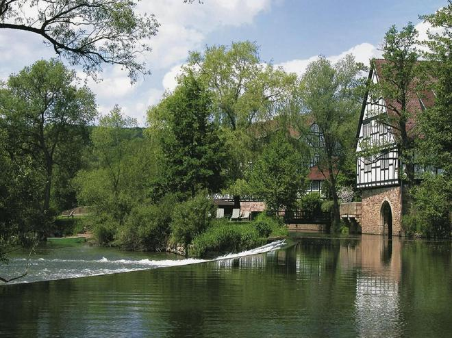 Romantik Hotel Neumühle - Bad Kissingen - Θέα στην ύπαιθρο
