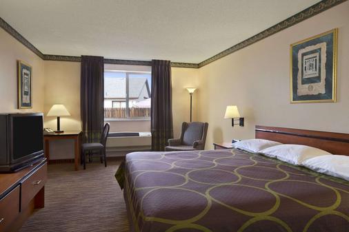 科羅拉多斯普林斯機場速 8 酒店 - 科羅拉多斯普林斯 - 科羅拉多斯普林斯 - 臥室