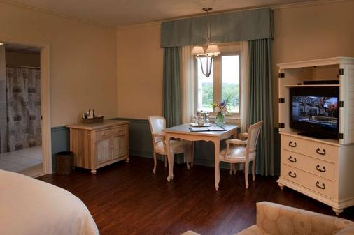 La Tourelle Hotel and Spa - Ithaca - Phòng ăn
