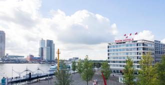 Thon Hotel Rotterdam - Rotterdam - Utomhus