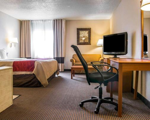 Quality Inn & Suites Airport - Flint - Makuuhuone