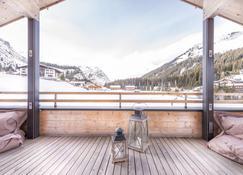 Design Chalets Lech - Lech am Arlberg - Balcony