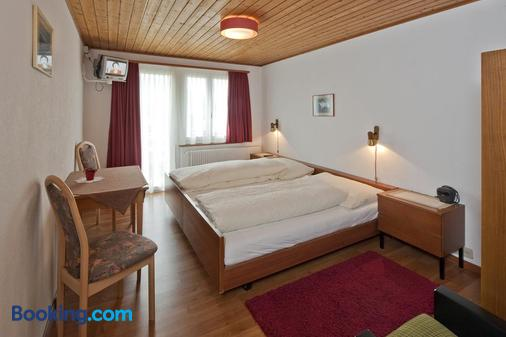 Hotel Park - Fiesch - Bedroom