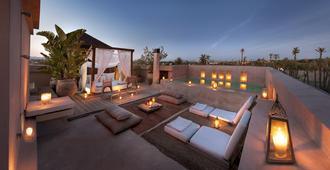 Ksar Char-Bagh - Marrakech - Bedroom