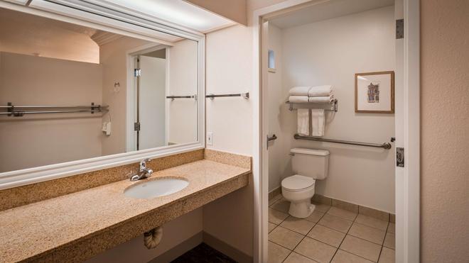 西方最佳花園酒店 - 聖塔羅沙 - 聖羅莎 - 浴室