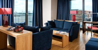 Clipper Elb-Lodge - Hamburgo - Sala de estar