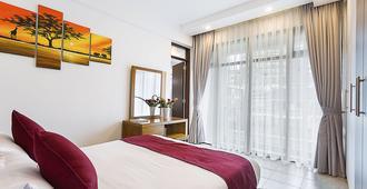 L'Aziz Suites - Nairobi - Bedroom