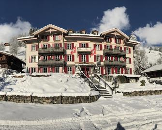 Swiss Historic Hotel Du Pillon - Ormont-Dessus - Building