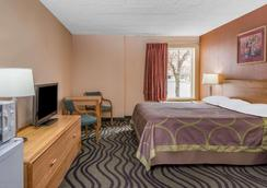 Super 8 by Wyndham Batavia E of Darien Lake Theme Park - Batavia - Bedroom