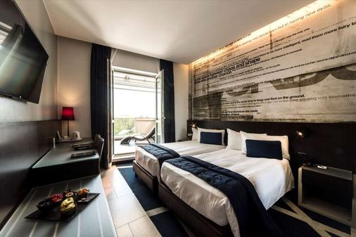 馬內酒店 - 米蘭 - 米蘭 - 臥室