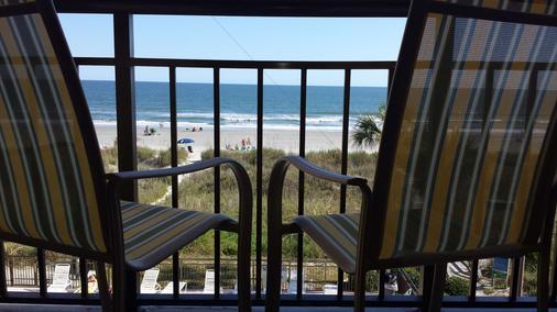 Best Western Ocean Sands Beach Resort - North Myrtle Beach - Balkon