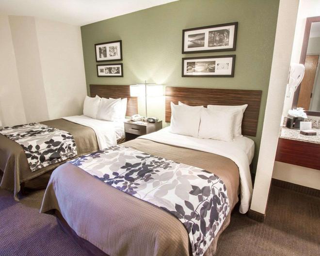 Sleep Inn at North Scottsdale Road - Scottsdale - Bedroom
