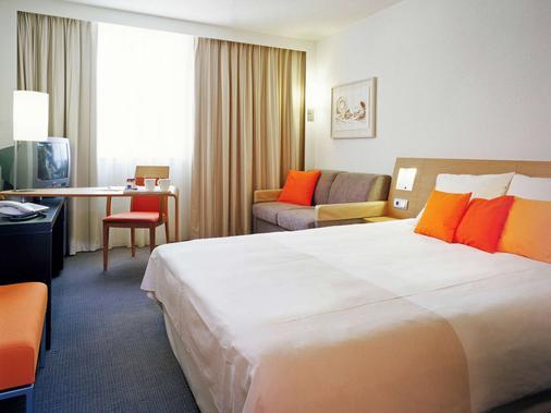 布魯日市中心諾富特酒店 - 布魯日 - 布魯日 - 臥室