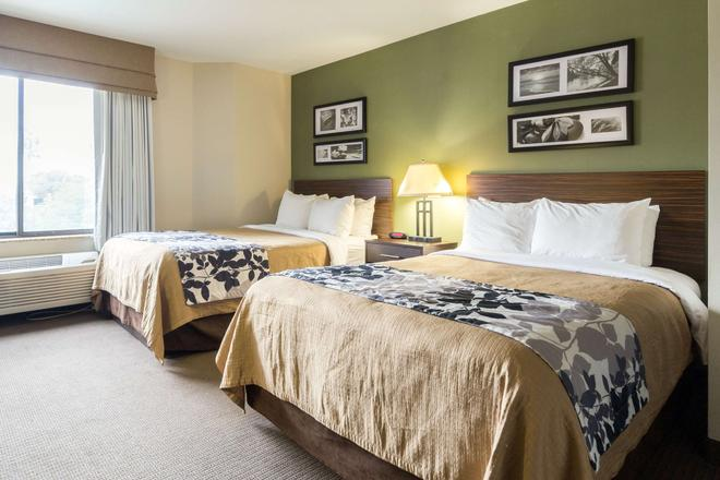 Sleep Inn Phoenix Sky Harbor Arpt - Phoenix - Phòng ngủ