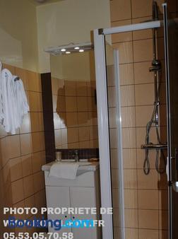 Hostellerie Du Perigord Vert - Brantôme-en-Périgord - Bathroom