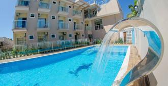 Villarejo Parque Hotel - פנייה - בריכה